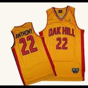 Air Jordan Oak Hill Carmelo Anthony Jersey #22